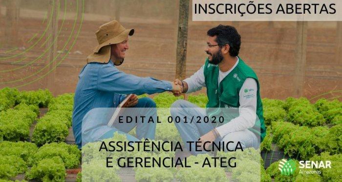 SENAR-AM abre credenciamento para técnicos de campo do programa de Assistência Técnica e Gerencial (ATeG)