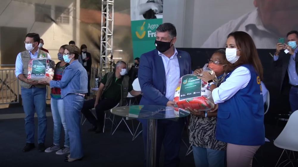 Faea e Senar-AM vão doar 4 mil cestas de alimentos no Amazonas pelo programa Agro Fraterno