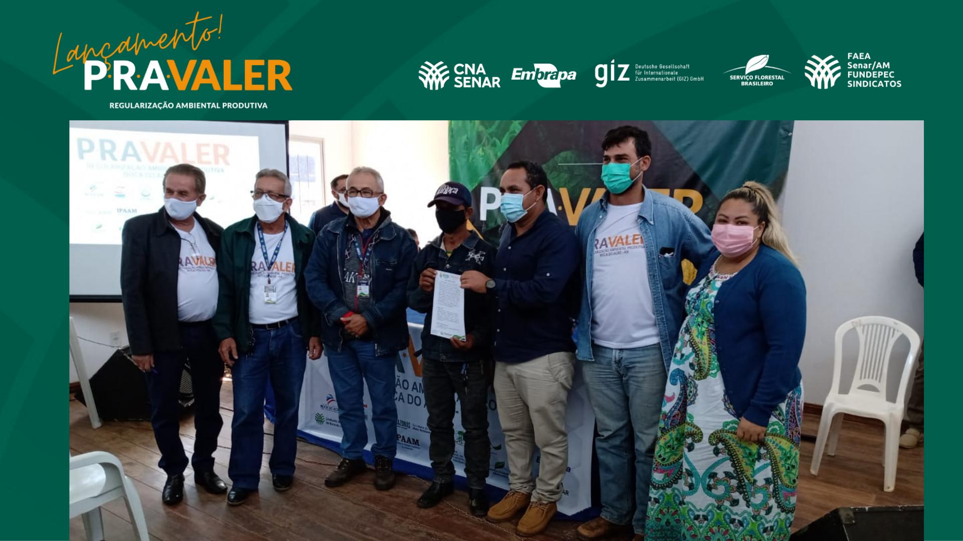 Lançamento: Projeto PraValer é apresentado a produtores rurais de Boca do Acre