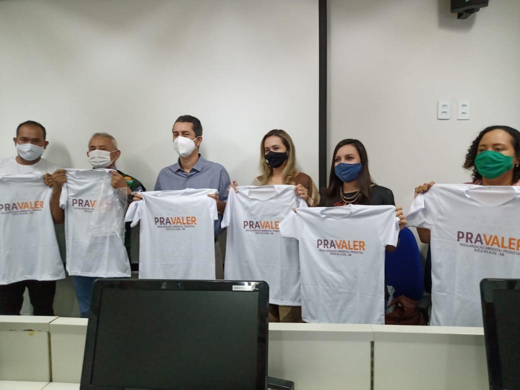 NO AMAZONAS TÉCNICOS DE CAMPO DO PROJETO PRAVALER RECEBEM CAPACITAÇÃO DE CAR