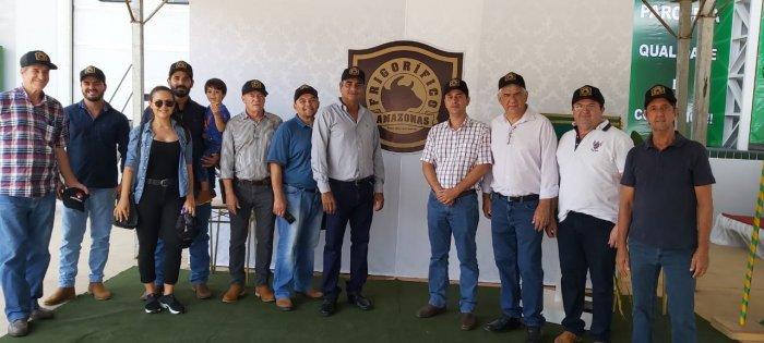FAEA e FUNDEPEC-AM participam de inauguração de frigorífico em Humaitá