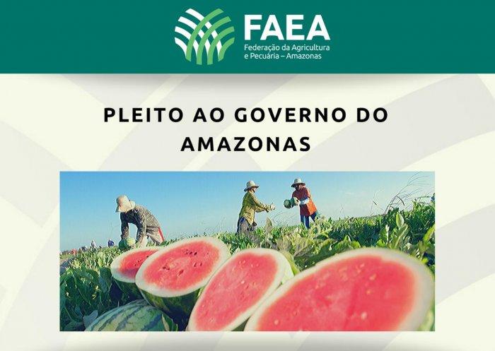 FAEA solicita ao Governo do Amazonas medidas de apoio aos produtores rurais diante dos impactos econômicos do coronavírus