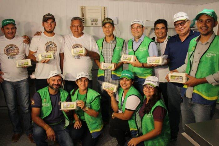 Muni Lourenço participa de inauguração de queijaria flutuante em Autazes
